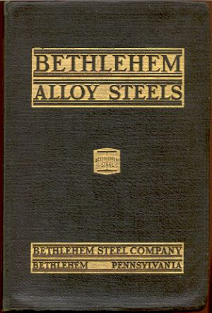 Image for BETHLEHEM ALLOY AND SPECIAL STEELS: BARS, BILLETS, BLOOMS AND SLABS, CATALOG-107